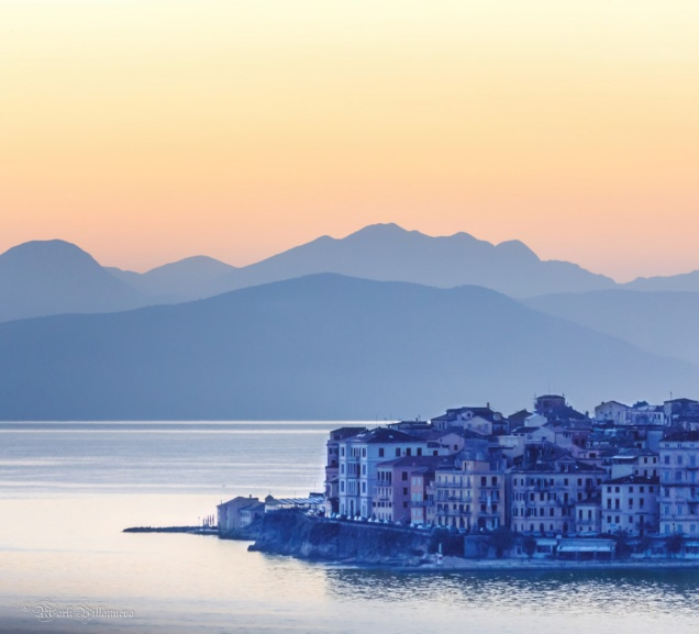 Early morning in Corfu