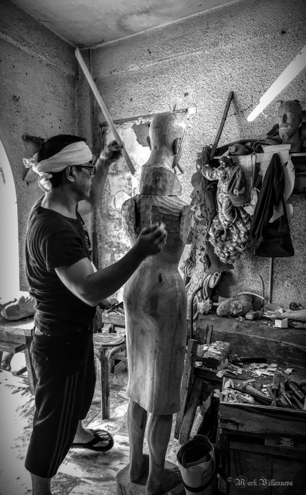 A Woodcarver