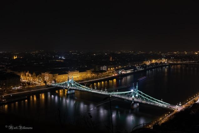 Freedom Bridge in Budapest